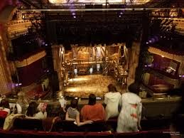Cibc Theatre Chicago Il Seating Chart Cibc Theater Balcony Left Center Rateyourseats Com
