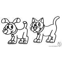 Gatti Da Colorare Lusso Gatti Da Stampare E Colorare