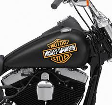 harley davidson bike decal tenstickers