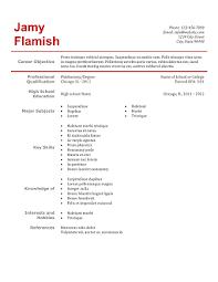 Phlebotomy Resume Sample 9 Phlebotomy Resume Simple Red Clean