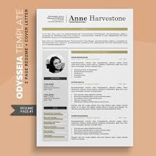 Cv Templates Word 2007 Creative Cv Template Resume Template Professional 2 Pages