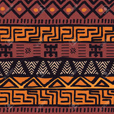 Bohemian Pattern Interesting Tribal Ethnic Colorful Bohemian Pattern With Geometric Elements