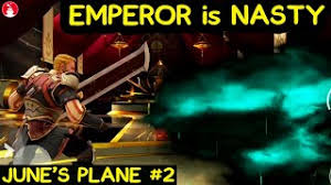Shadow Fight 3. Beating Emperor In June's Plane. He MADE ME ...