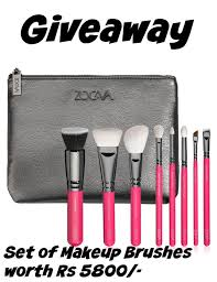 may giveaway win zoeva makeup brush set worth rs 5800