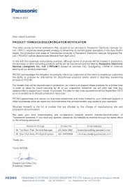 Business Transfer Notification Letter Templates At