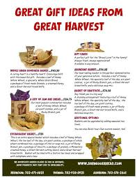 handcrafted gifts great harvest bread of herndon