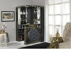 corner bars furniture. Tiffanie Italian Classic Bar Unit DreamFurniture Com Corner Bars Furniture