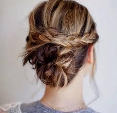 Belle Coiffure Cheveux Mi Long Tuto Simple Tresse Cascade Boucle