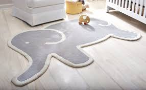 this adorable martha stewart living elephant rug is the perfect finishing touch to your childs bedroom