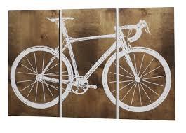 road bike wall art