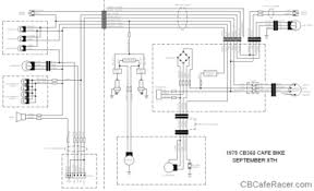 cafe racers cafe bike roadracers motorcycles ace scott king electrical details wiring diagram