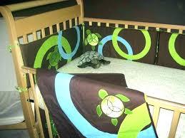 ninja turtle baby nursery crib bedding turtles teenage mutant