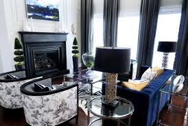White And Black Curtains For Living Room Black Living Room Curtains Living Room Design Ideas