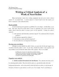 007 Critical Review Essay Example Analysis Paper How To Write