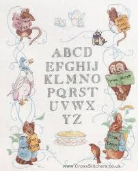 Peter Rabbit Cross Stitch Patterns Peter Rabbit Centenary