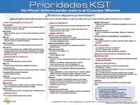 Kst Value Chart Kst Priorities Reference Chart Spanish Koren Publications