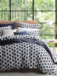 ford navy quilt cover set super king