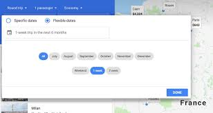 Google Flights Chart How To Use The Google Flights Explore Map To Find The