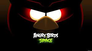 Angry Birds Space Red Bird Eyes Desktop ...