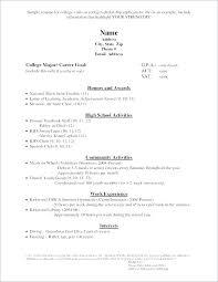 Simple High School Resume Examples Graduate School Resume Template Word Inspirational High