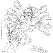 Strikingly Design Winx Sirenix Coloring Pages Flora Kleurplaat