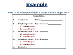 a plan that builds an essay ppt video online 4 example