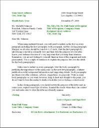 Legal Business Letter Format Letter Format 2017