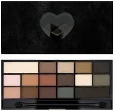 makeup revolution paleta 16 cieni black velvet