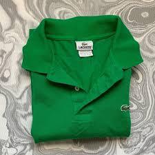 Men S Lacoste Green Polo
