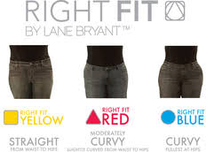 Lane Bryant Size Chart Lane Bryants Right Fit Jeans Start Sizing Revolution