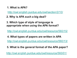 Apa Table Of Contents 5 What Is The General Format Of The Apa