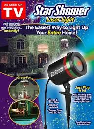 Illuminate your home with Star Shower Laser Light, As Seen on TV. You\u0027ll get a dazzling laser light show of brilliant green and red stars instantly! Light | The Latest TV Christmas,