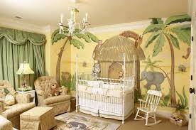 African Jungle Themed Baby Nursery