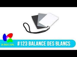 123 Charte Gris Neutre La Balance Des Blancs