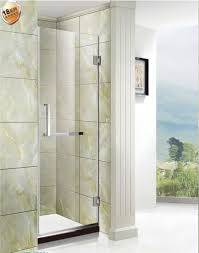 8 10 mm thick safety tempered glass shower door 1850 2000 mm height range