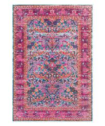 pink arabesque persian rug