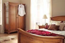 Solid Ash Bedroom Furniture Lincoln Solid Ash 2 Door Double Wardrobe Oak Furniture Uk