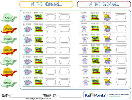 Daily Checklist Chart 019 Template Ideas Daily Routine Chart My Wonderful Family