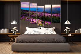 5 piece huge canvas art bedroom large pictures landscape canvas art prints blue on wall art prints for bedroom with 5 piece canvas photography mountain multi panel art flowers huge