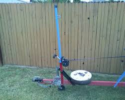 harbor freight hand winch. the winch post that comes with kit is adequate for typical jon and small power boats, but i mostly carry sailboats. after a number of experiments, harbor freight hand