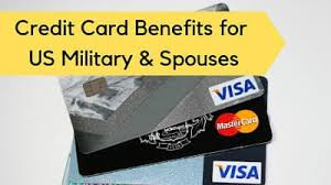 We are committed to serving those who proudly serve us. Credit Card Benefits For Us Military Military Benefits
