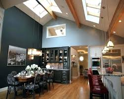 recessed lighting vaulted ceiling vaulted ceiling lighting kitchen lighting ideas vaulted ceiling with pendant lamps and