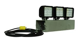 110 Volt Led Work Lights 144 Watt Led Flood Light With Magnetic Mount Released By