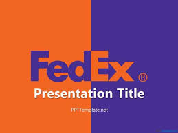 Formal Ppt Templates Free Fedex With Logo Ppt Template 7802960027 Formal Business