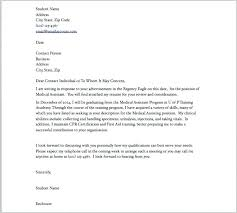 Example Of Medical Assistant Cover Letter Perfect Example Of Cover ...