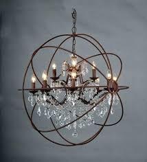 crystal orb floor lamp crystal orb chandelier s polished nickel large crystal orb restoration hardware orb crystal orb floor lamp