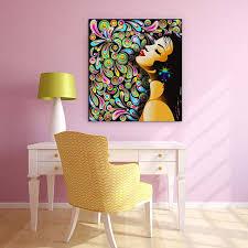 Canvas Painting Ideas - Teenage Girl Room