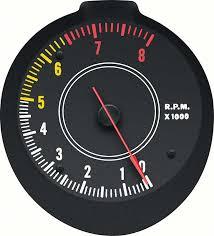 mopar parts dash components gauges oe classic industries 1970 74 mopar e body rallye tachometer