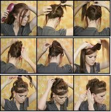 Coiffure A Faire Soi Meme Pour Cheveux Long Coiffures à La