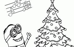 Small Picture christmas minion coloring pages minion christmas coloring pages